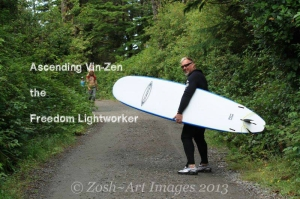 Ascending vinzen freedom lightworker